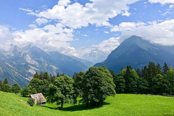 Альпийские картинки, открытки открытка пасхальная