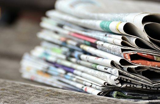 Journaux, Pile De Papier, Presse