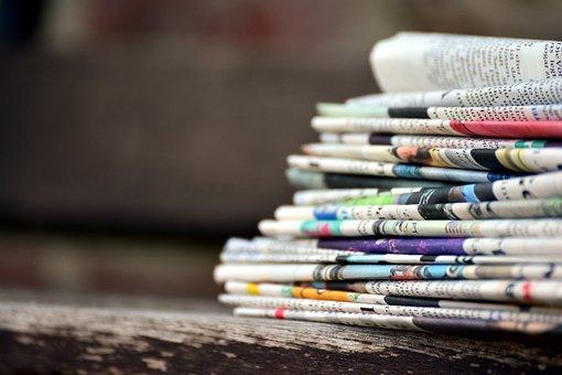 Using a Newspaper