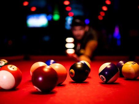 Pool, Billiards, 8 Ball, Skill, Balls
