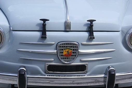 Fiat 500, Abarth, Cofano, Vintage