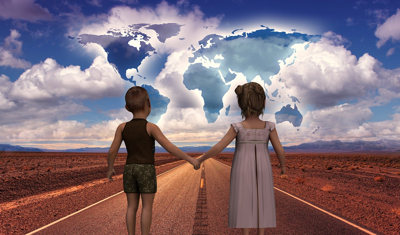 Будущее дети картинки