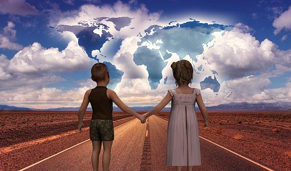 Road, Start, Children'S Future, World