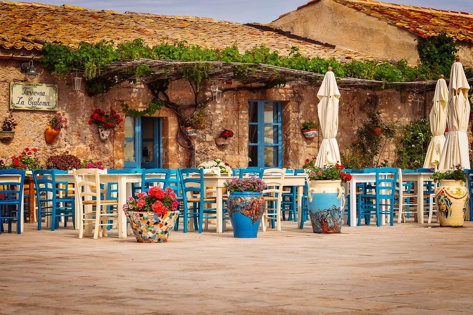 Ristorante, Taverna, Sicilia, Marzamemi, Sud, Eclettico