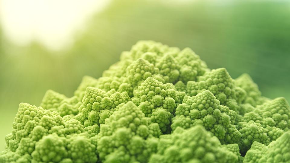 Romanesco, Verdure, Verde, Alimentari, Vitaminhaltig