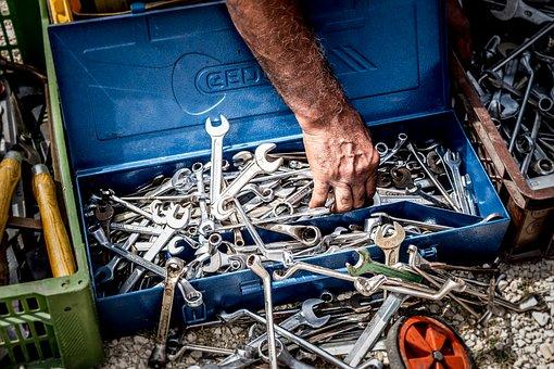 Tool, Wrench, Toolbox, Repair, Work