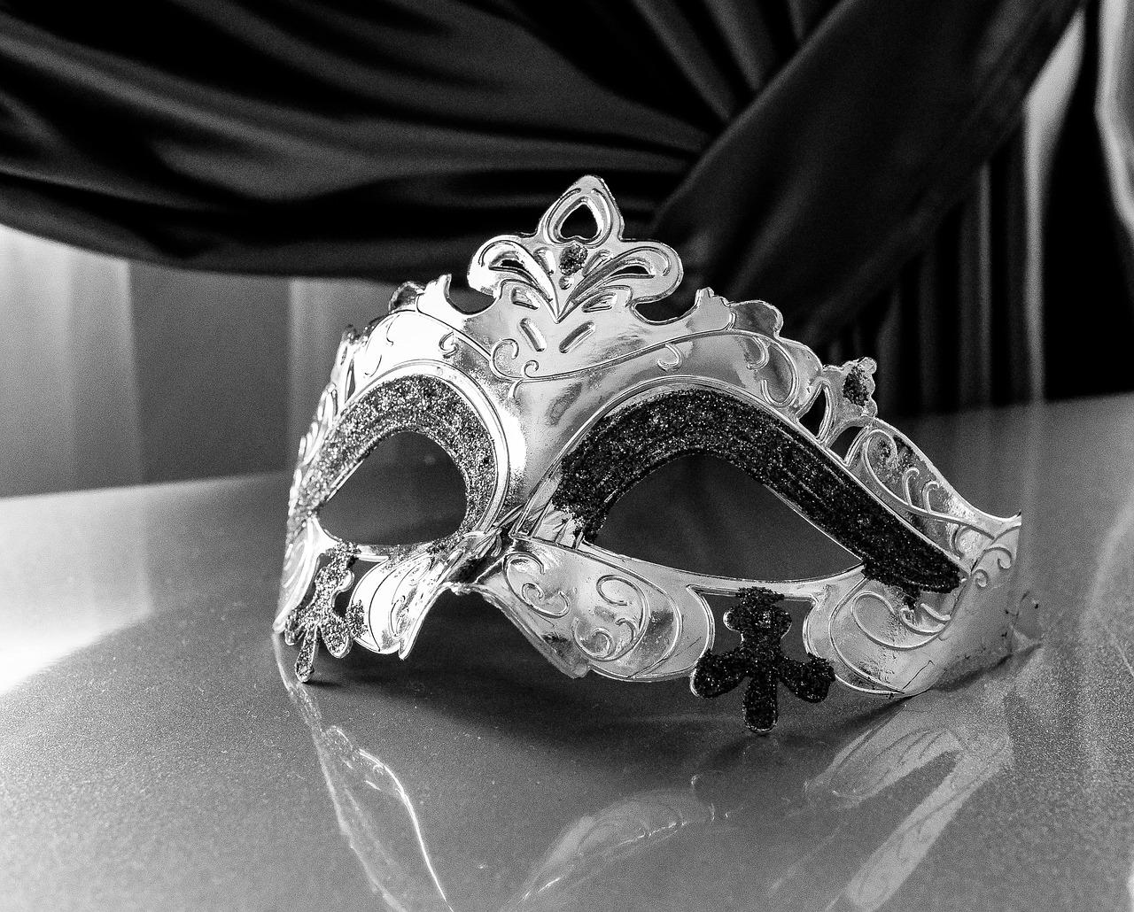 マスク, カーニバル, ヴェネティア, 神秘的, 隠す, 祭り, 楽しみ