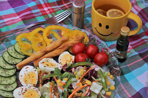 Colorful, Tasty, Breakfast, Delicious