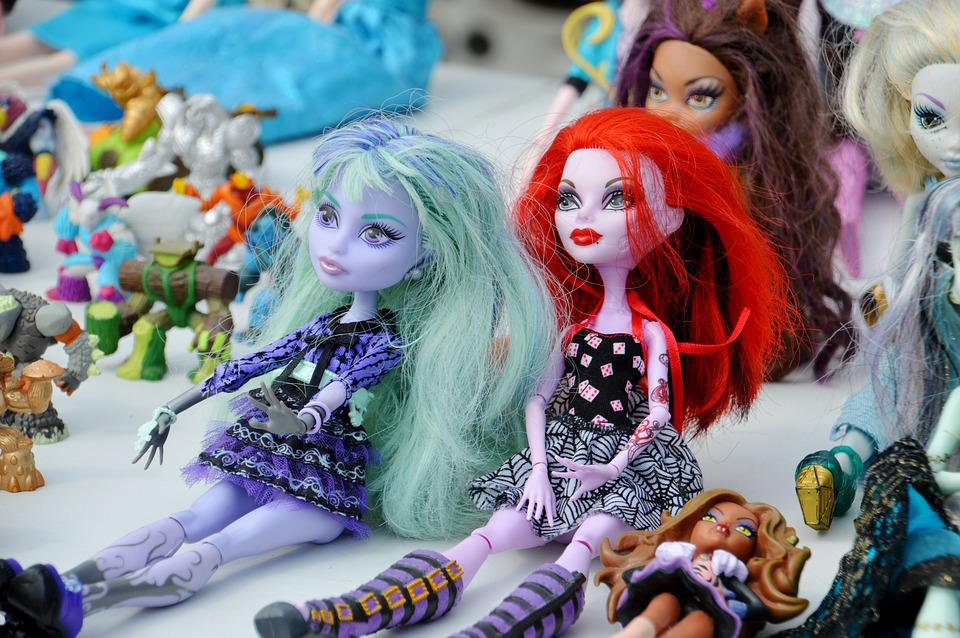 Doll Dolls Monster Colored Free Photo On Pixabay