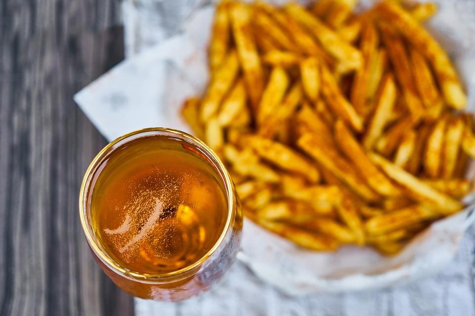 Patata, Friggere, Giallo, Malsana, L'Obesità, Dieta