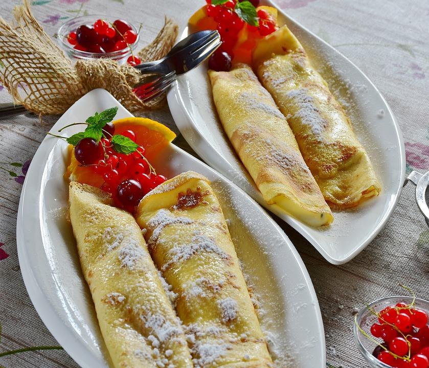 Frittelle, In Crepe, Frittella, Uovo, Latte, Farina