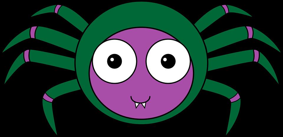 Ragno Cartone Animato Insetto Immagini Gratis Su Pixabay