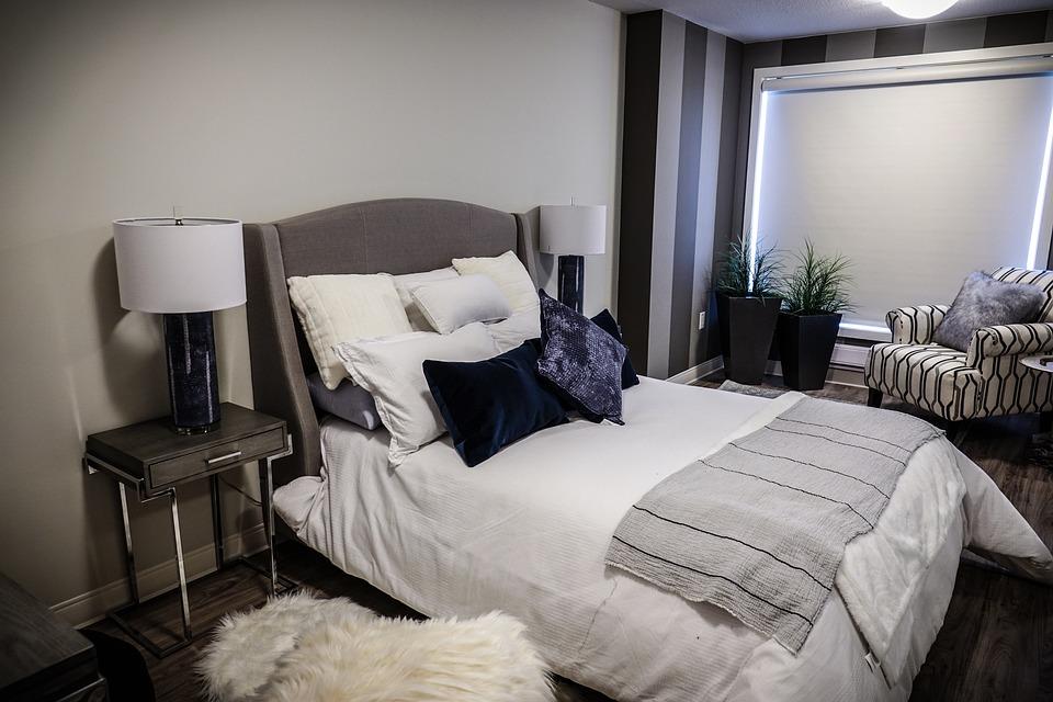 Schlafzimmer Bett Kissen - Kostenloses Foto auf Pixabay