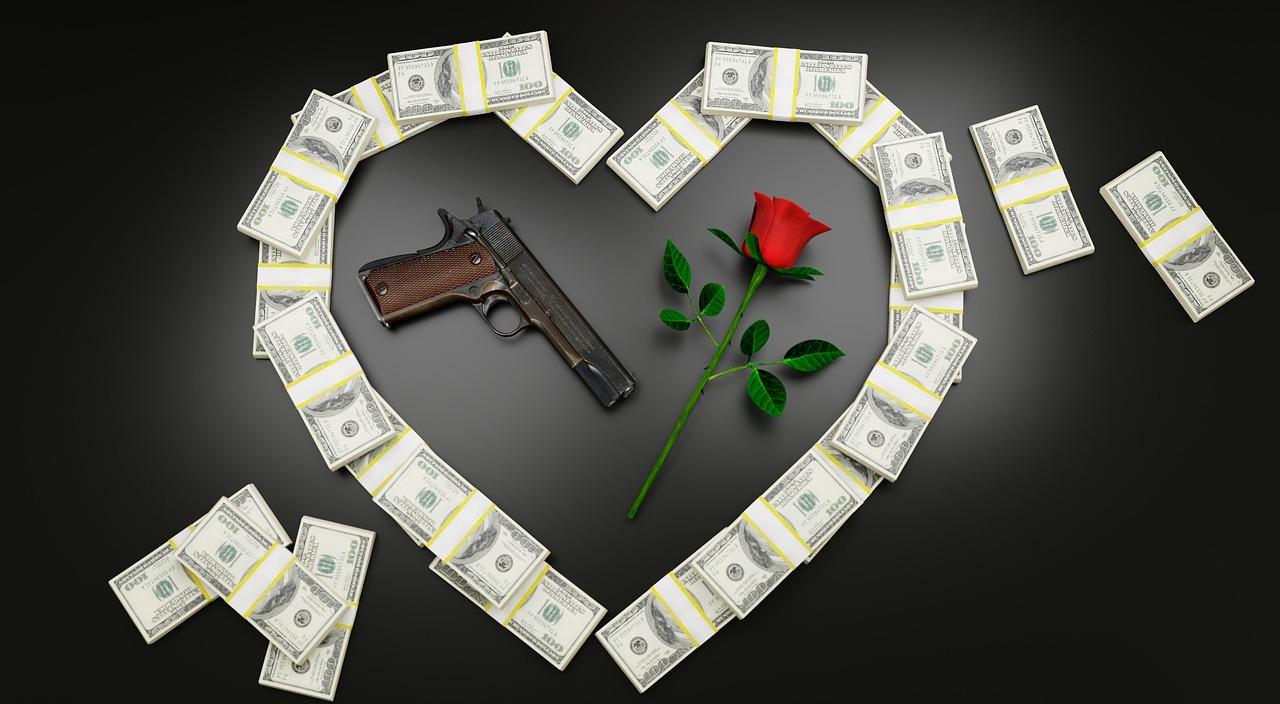 Картинки с оружием деньгами