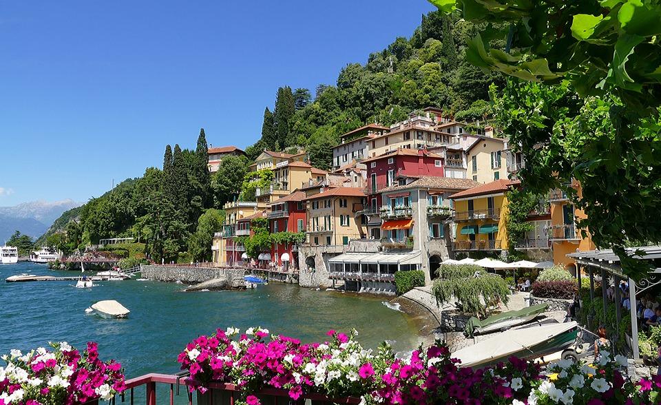 Italy, Lake Como, Varenna, Lake, Vacations, City