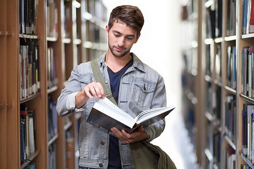 Student, Library, Books, Book, Learn