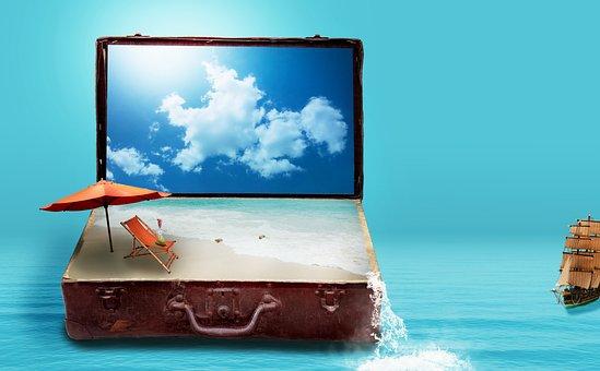 Fantazie, Cestovní, Dovolená, Zavazadla