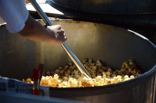 Kettle Corn, Popcorn, Kettle