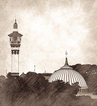 100+ Gambar Abstrak Masjid Paling Keren