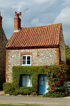 House, Small, Cottage, Norfolk, Mini