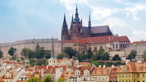 プラハ, プラハ城, 城, のシートのキングス, 住宅は社長