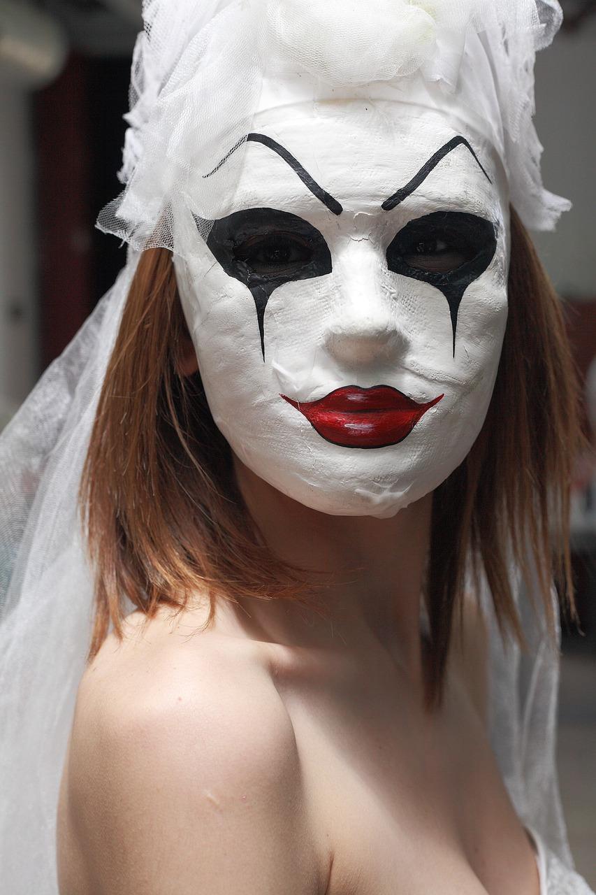 Maske Boya Korku Pixabay De Ucretsiz Fotograf