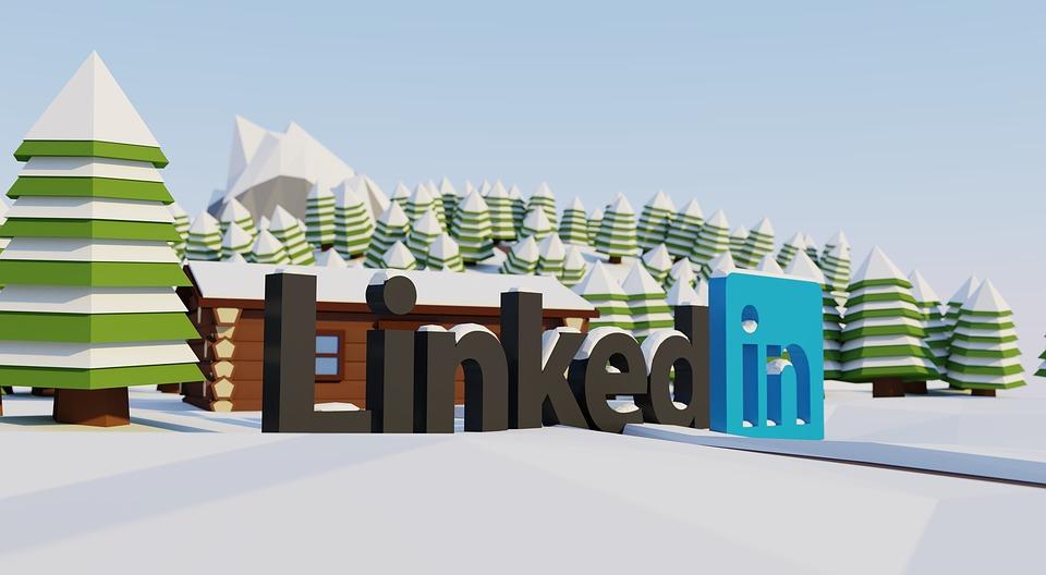 Linkedin, Sociale, Netwerk, Logo, Het Werk