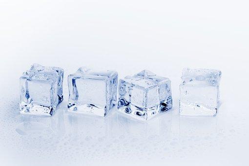 アイス キューブ, 氷, 水, 冷, 凍結, リフレッシュメント, キューブ