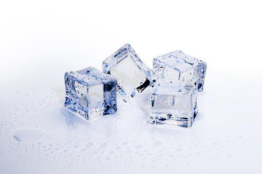 Ice Cubes, Ice, Cold, Frozen
