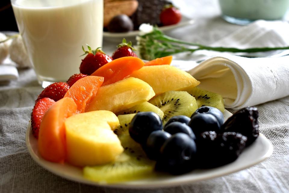 Obst Fruhstuck Obstsalat Kostenloses Foto Auf Pixabay