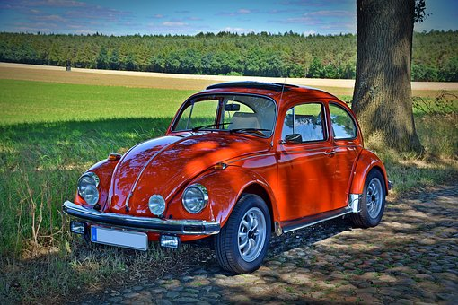 Oldtimer, Vw Beetle, Classico, Vw