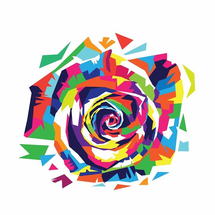 Rose Diseno De Rosas Animales La Imagen Gratis En Pixabay - Diseos-de-rosas