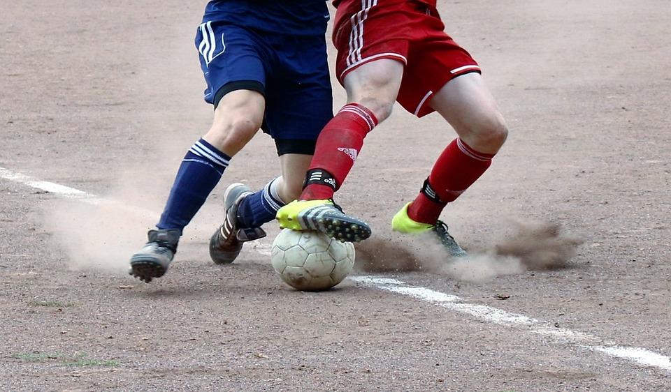 Asche Fussball Zweikampf Kostenloses Foto Auf Pixabay