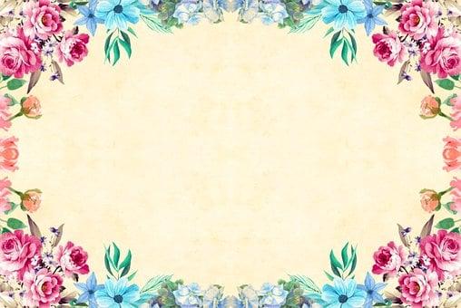 Flower, Background, Vintage, Roses