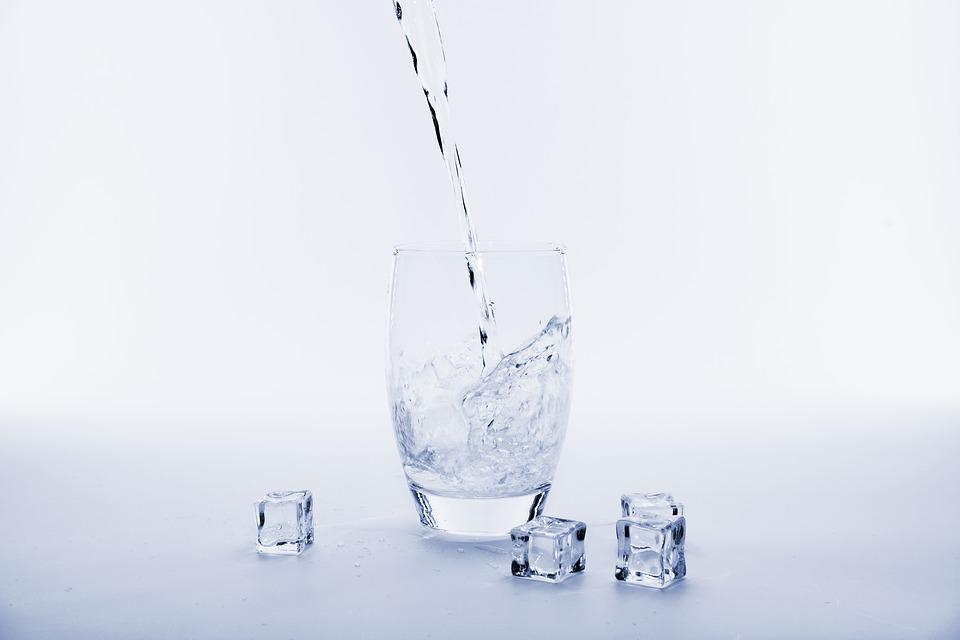 Water, Refreshment, Drink, Cool Down, Ice Cubes, Ice
