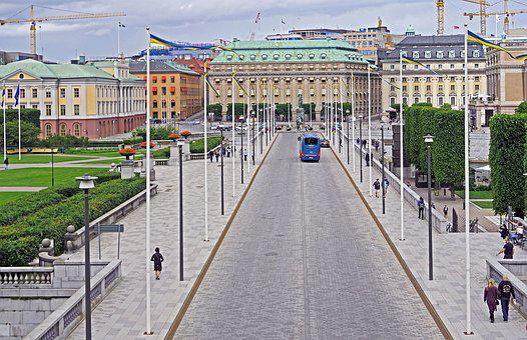 Stockholm, Parliament Island, Boulevard