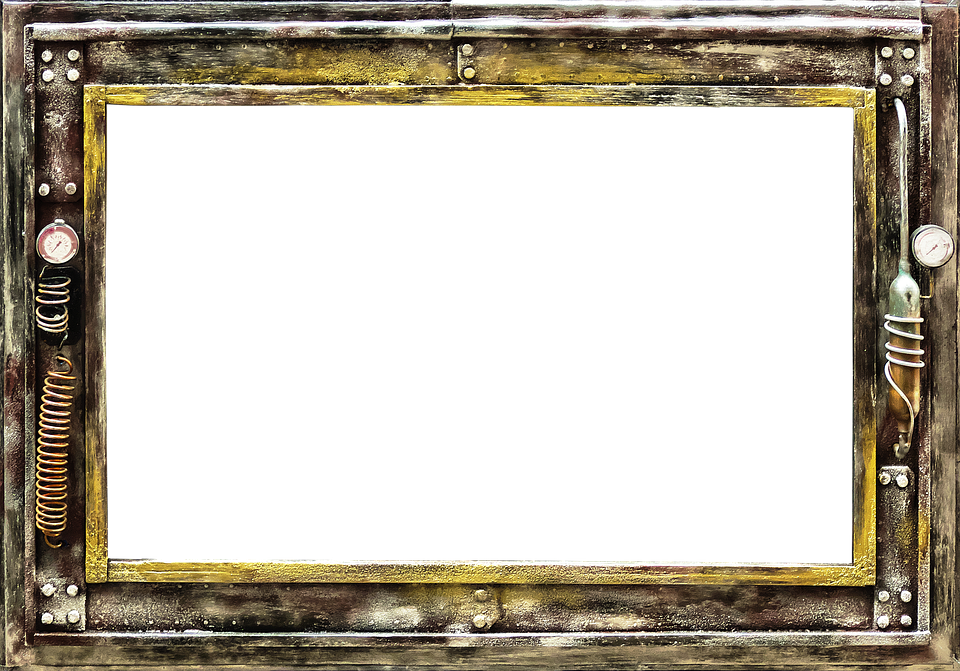Picture Frame Steampunk Metal · Free photo on Pixabay