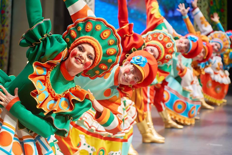 Folklore, Dance, Russian Dance, Russian Costume