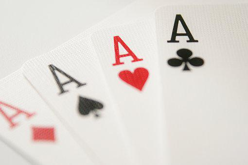 Ace, Cards, Strength, Play, Diamonds