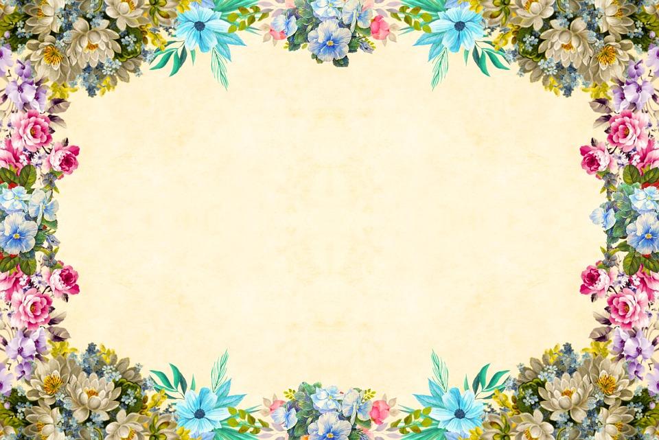 Flower Background Vintage Free Image On Pixabay