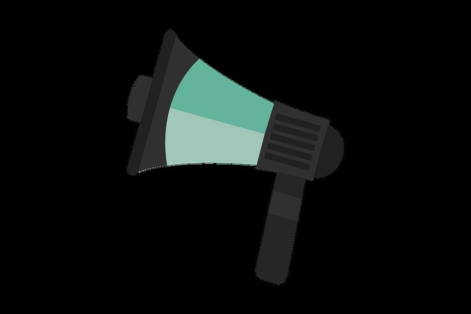 Yuksek Sesle Hoparlor Duyuru Pixabay De Ucretsiz Resim