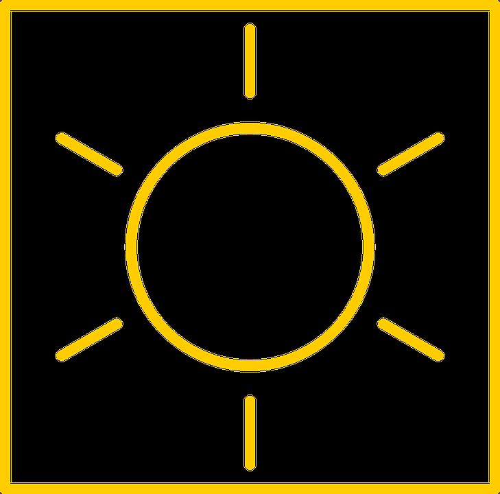 Gunesli Yaz Hava Pixabay Da Ucretsiz Vektor Grafik