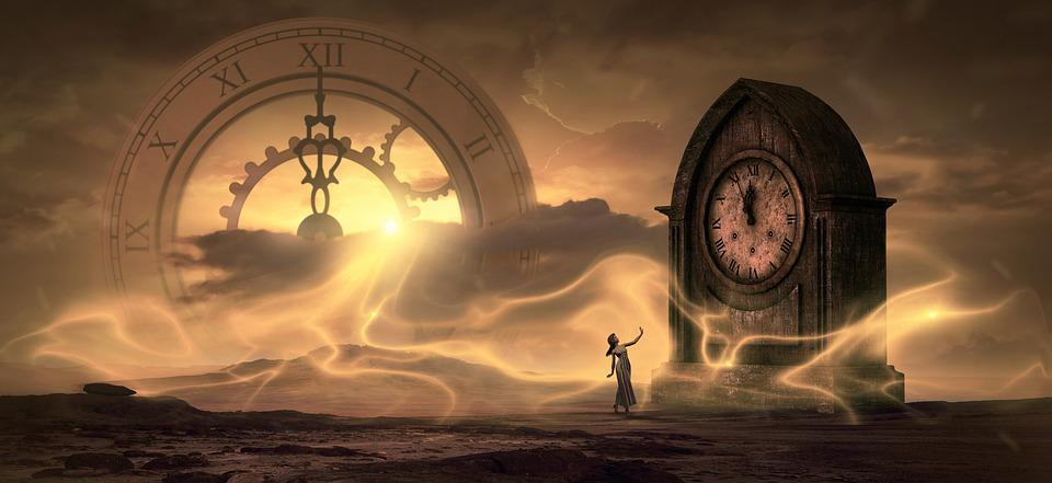 Fantasy, Clock, Time, Light, Magic, Dream, Surreal