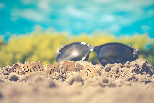 Summer, Sunglasses, Sand, Glasses