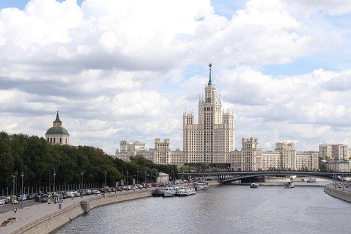Набережная, Москва, Высотка, Река
