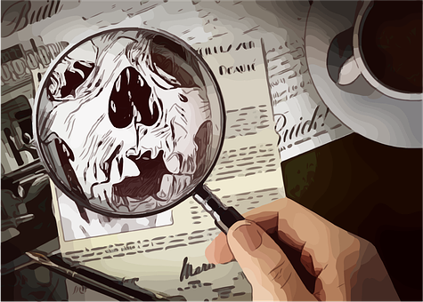 Detective, Magnifying, Glass