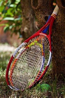 Tennis, Tennis Rackets, Balls, Sport