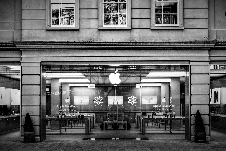 Apple loja preto e branco foto gratuita no pixabay apple loja preto e branco tecnologia negcios altavistaventures Choice Image