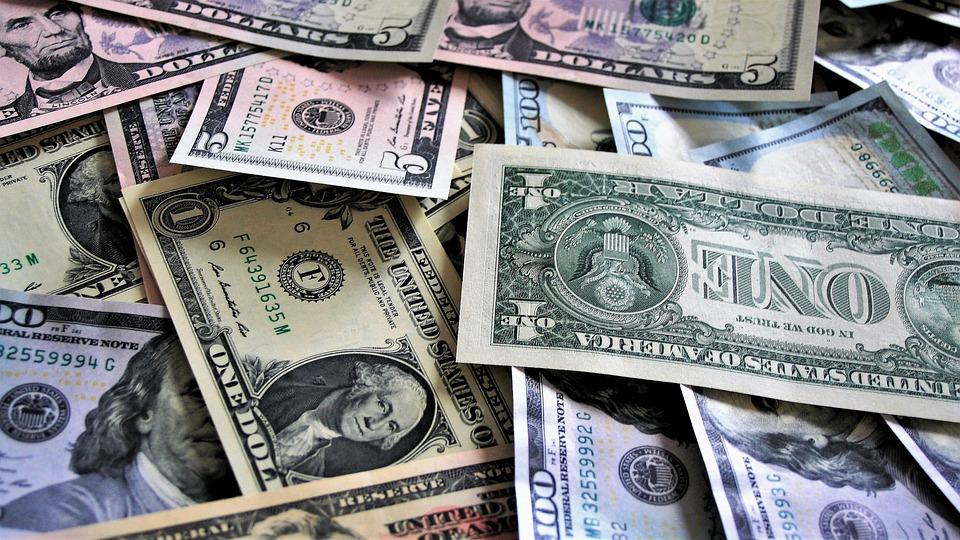 Peniaze, Dolároch, Mena, Uložiť, Hotovosť, Financie