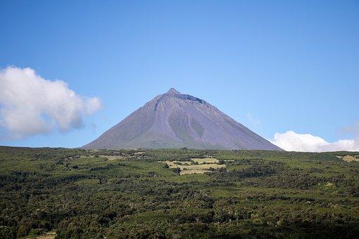 Natur, Landschaft, Pico Mountain, Vulkan